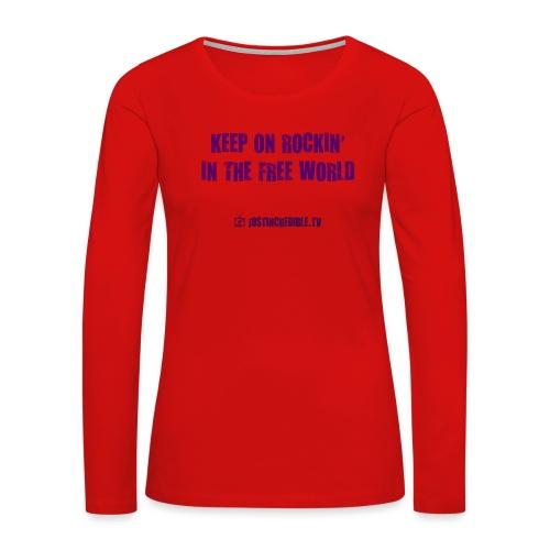 KORITFW - Women's Premium Slim Fit Long Sleeve T-Shirt