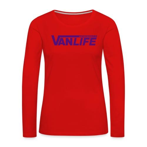Vanlife - Women's Premium Slim Fit Long Sleeve T-Shirt