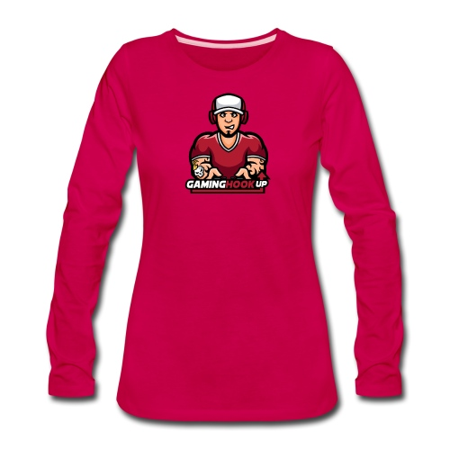 Your One Stop GamingHookup - Women's Premium Long Sleeve T-Shirt