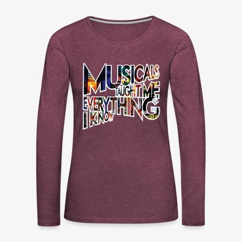 MTMEIK Broadway - Women's Premium Long Sleeve T-Shirt