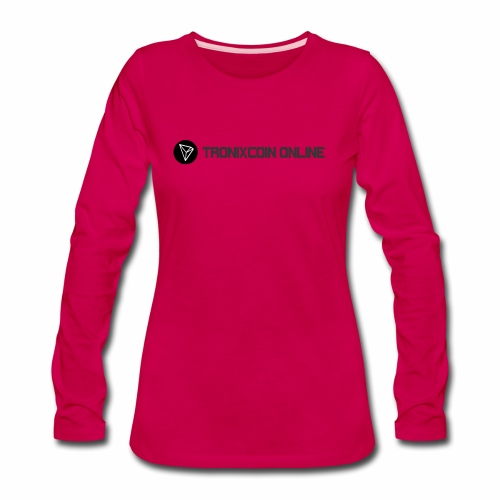 Tronixcoin Online - Women's Premium Long Sleeve T-Shirt