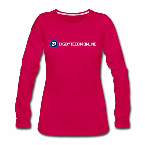 Digibyte online light - Women's Premium Long Sleeve T-Shirt