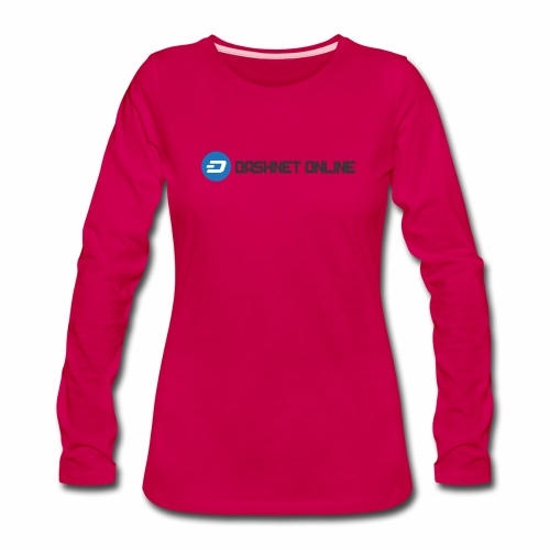 dashnet online dark - Women's Premium Long Sleeve T-Shirt