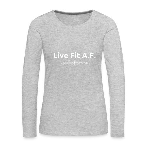 COOL TOPS - Women's Premium Slim Fit Long Sleeve T-Shirt