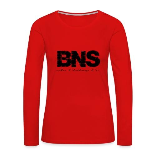 BNS Au Clothing Co - Women's Premium Long Sleeve T-Shirt
