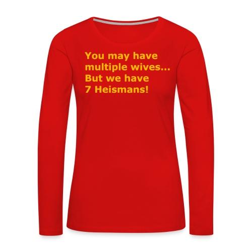 Multiple Wives - Women's Premium Long Sleeve T-Shirt