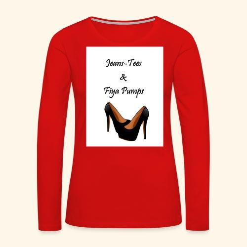 Jeans - Women's Premium Long Sleeve T-Shirt