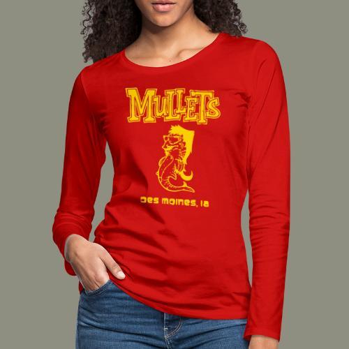 Mullets Color Series - Women's Premium Long Sleeve T-Shirt