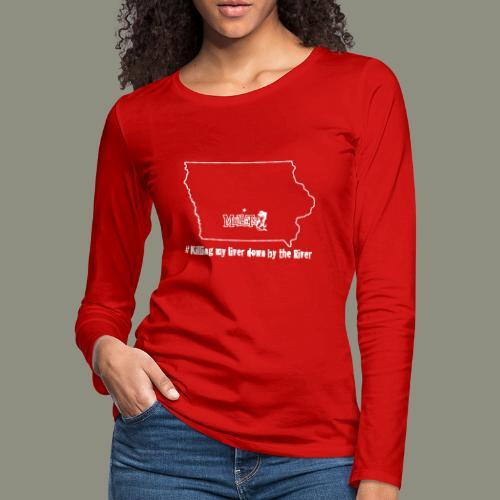 river white - Women's Premium Long Sleeve T-Shirt