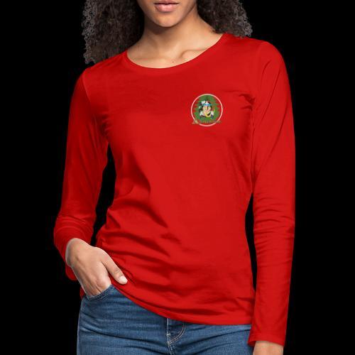 Archigantegou Logo Color - Women's Premium Slim Fit Long Sleeve T-Shirt