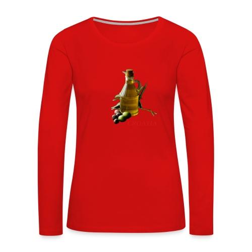 Croatian Gourmet 2 - Women's Premium Long Sleeve T-Shirt
