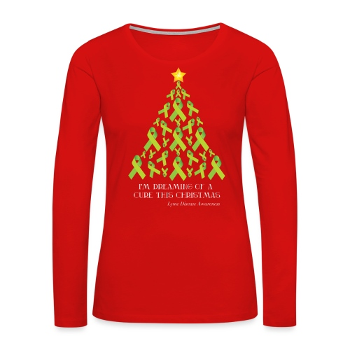 Lyme Free Christmas - Women's Premium Long Sleeve T-Shirt