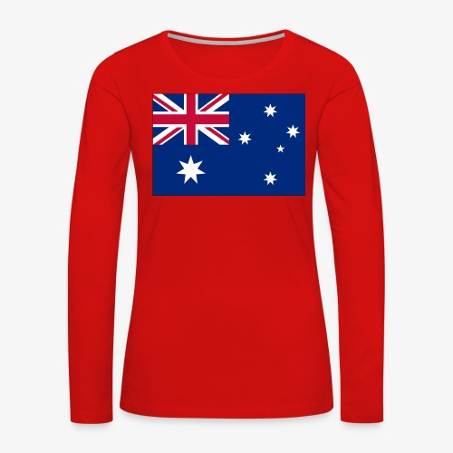 Bradys Auzzie prints - Women's Premium Long Sleeve T-Shirt