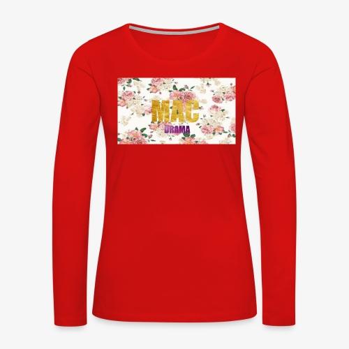drama - Women's Premium Long Sleeve T-Shirt