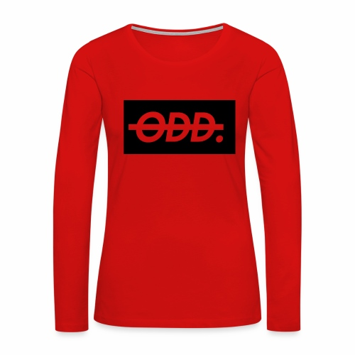 Odyssey Brand Logo - Women's Premium Long Sleeve T-Shirt