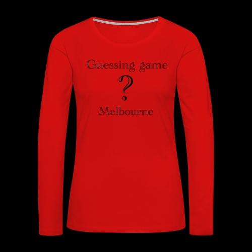 Loyal - Women's Premium Long Sleeve T-Shirt