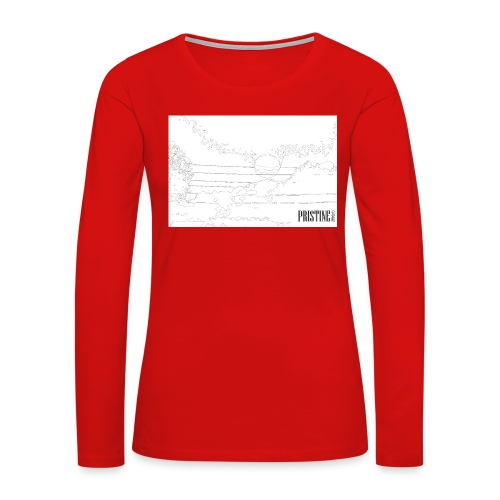 SunLines - Women's Premium Long Sleeve T-Shirt