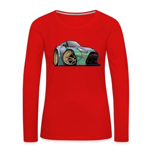R35 GTR - Women's Premium Long Sleeve T-Shirt
