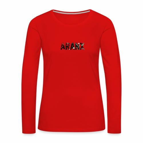Aranx Logo - Women's Premium Long Sleeve T-Shirt