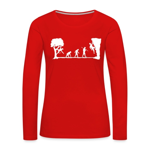 Apes Climb - Women's Premium Long Sleeve T-Shirt