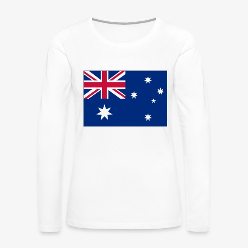 Bradys Auzzie prints - Women's Premium Slim Fit Long Sleeve T-Shirt
