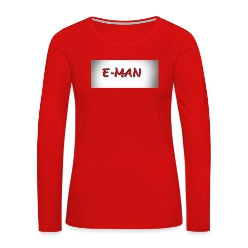 E-MAN - Women's Premium Long Sleeve T-Shirt