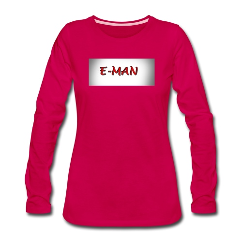 E-MAN - Women's Premium Long Sleeve T-Shirt