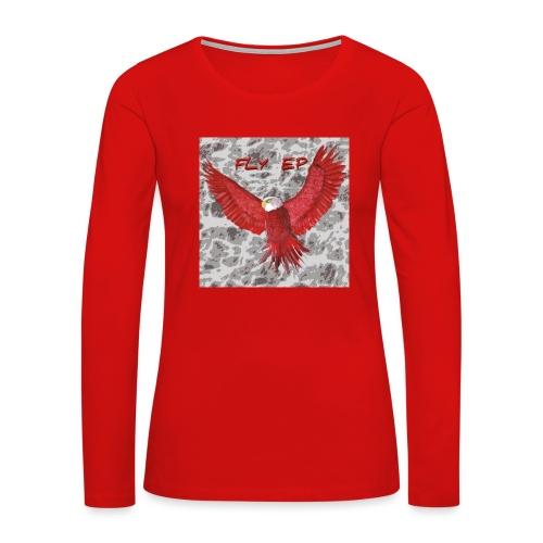Fly EP MERCH - Women's Premium Slim Fit Long Sleeve T-Shirt