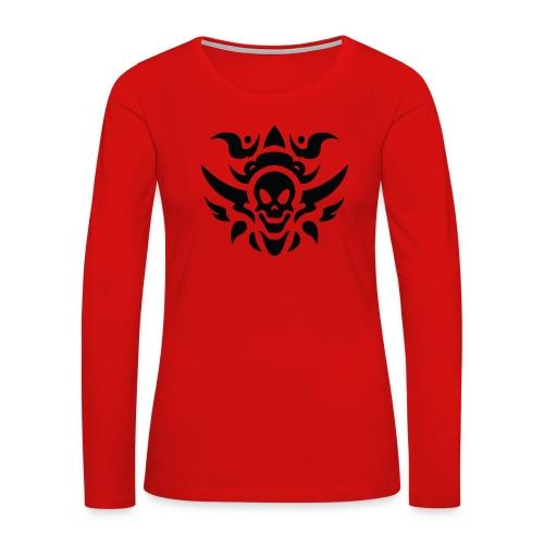 tattoo PNG5487 - Women's Premium Long Sleeve T-Shirt