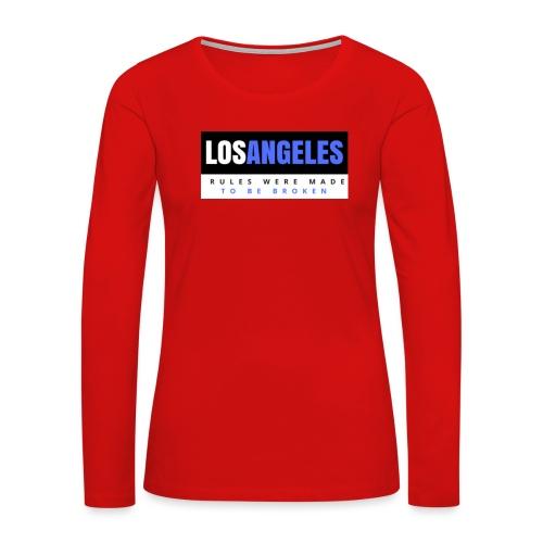 LOS ANGELES - Women's Premium Long Sleeve T-Shirt