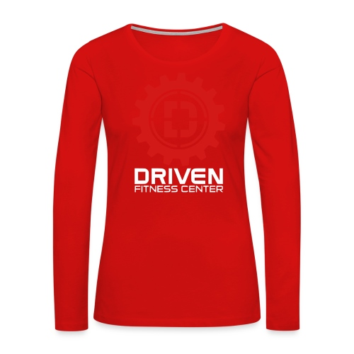 Stacked Logo - Women's Premium Long Sleeve T-Shirt