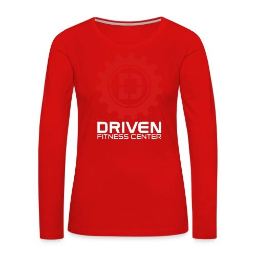 Stacked Logo - Women's Premium Long Sleeve T-Shirt