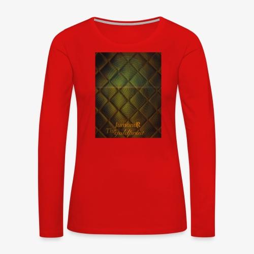 JumondR The goldprint - Women's Premium Long Sleeve T-Shirt
