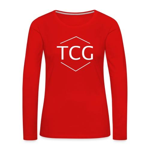 Simple Tcg hoodie - Women's Premium Slim Fit Long Sleeve T-Shirt