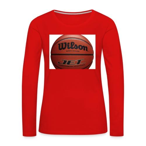D7D3DA8A 99F8 4686 910E DF6179D3929F - Women's Premium Long Sleeve T-Shirt