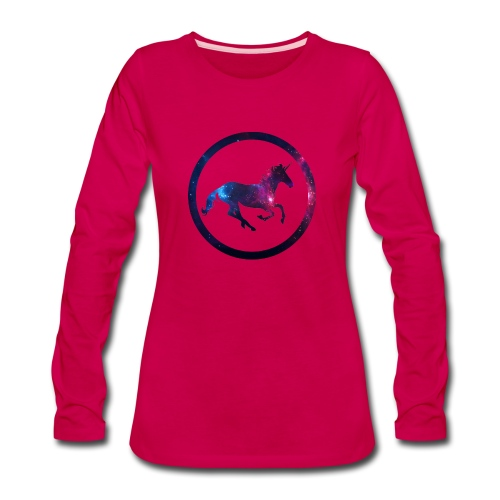Believe Unicorn Universe 1 - Women's Premium Long Sleeve T-Shirt