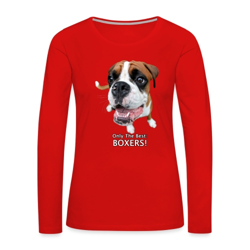 Only the best - boxers - Women's Premium Long Sleeve T-Shirt