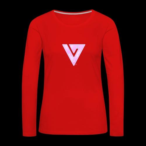 Seventeen Black T-Shirt - Women's Premium Long Sleeve T-Shirt