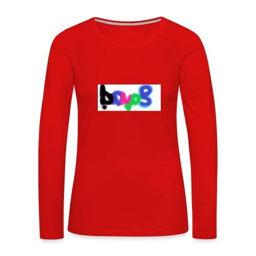 brush the haters off - Women's Premium Long Sleeve T-Shirt