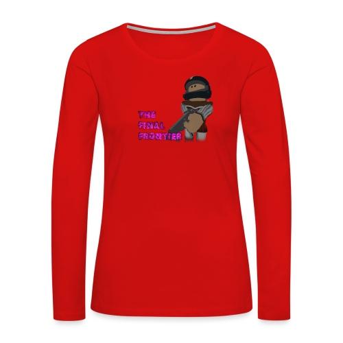 The Final Frontier - Women's Premium Long Sleeve T-Shirt
