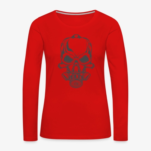 fire 2 - Women's Premium Long Sleeve T-Shirt