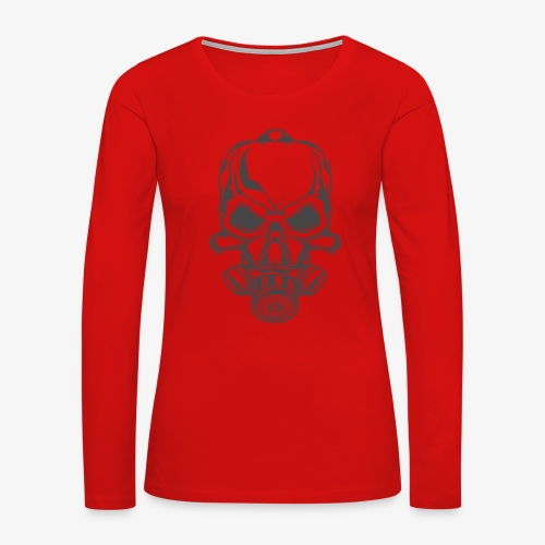 fire 2 - Women's Premium Slim Fit Long Sleeve T-Shirt
