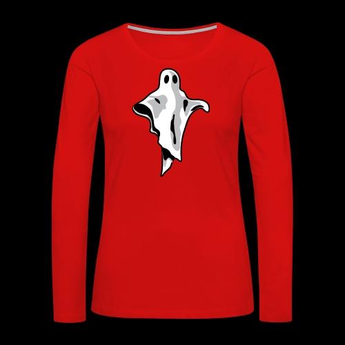 ghostware ghost - Women's Premium Slim Fit Long Sleeve T-Shirt