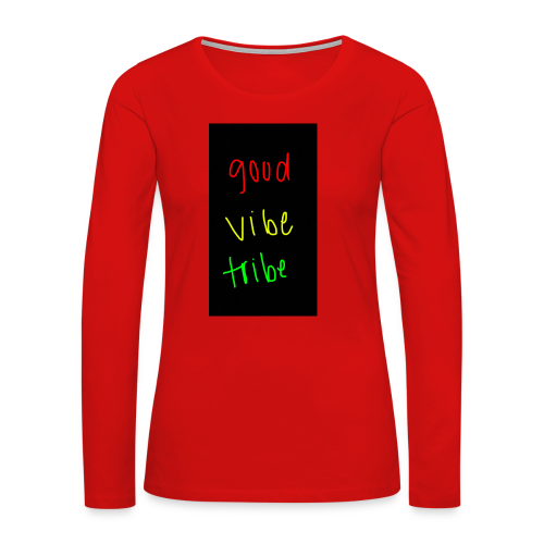 good vibe tribe - Women's Premium Long Sleeve T-Shirt