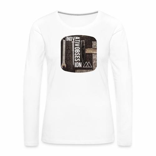"InovativObsesion ""MECHANICAL"" apparel - Women's Premium Long Sleeve T-Shirt"