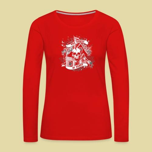 hoh_tshirt_skullhouse - Women's Premium Long Sleeve T-Shirt