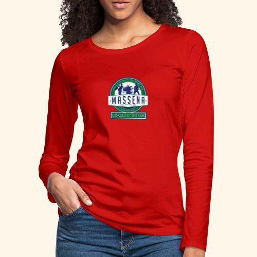 Massena CitP - Women's Premium Slim Fit Long Sleeve T-Shirt