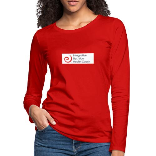 IIN Health Coach - Women's Premium Slim Fit Long Sleeve T-Shirt