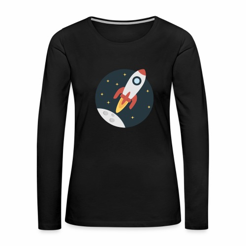 instant delivery icon - Women's Premium Long Sleeve T-Shirt