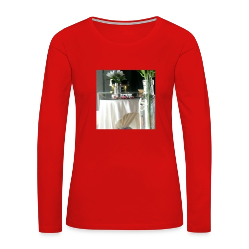 Spread the Love! - Women's Premium Slim Fit Long Sleeve T-Shirt